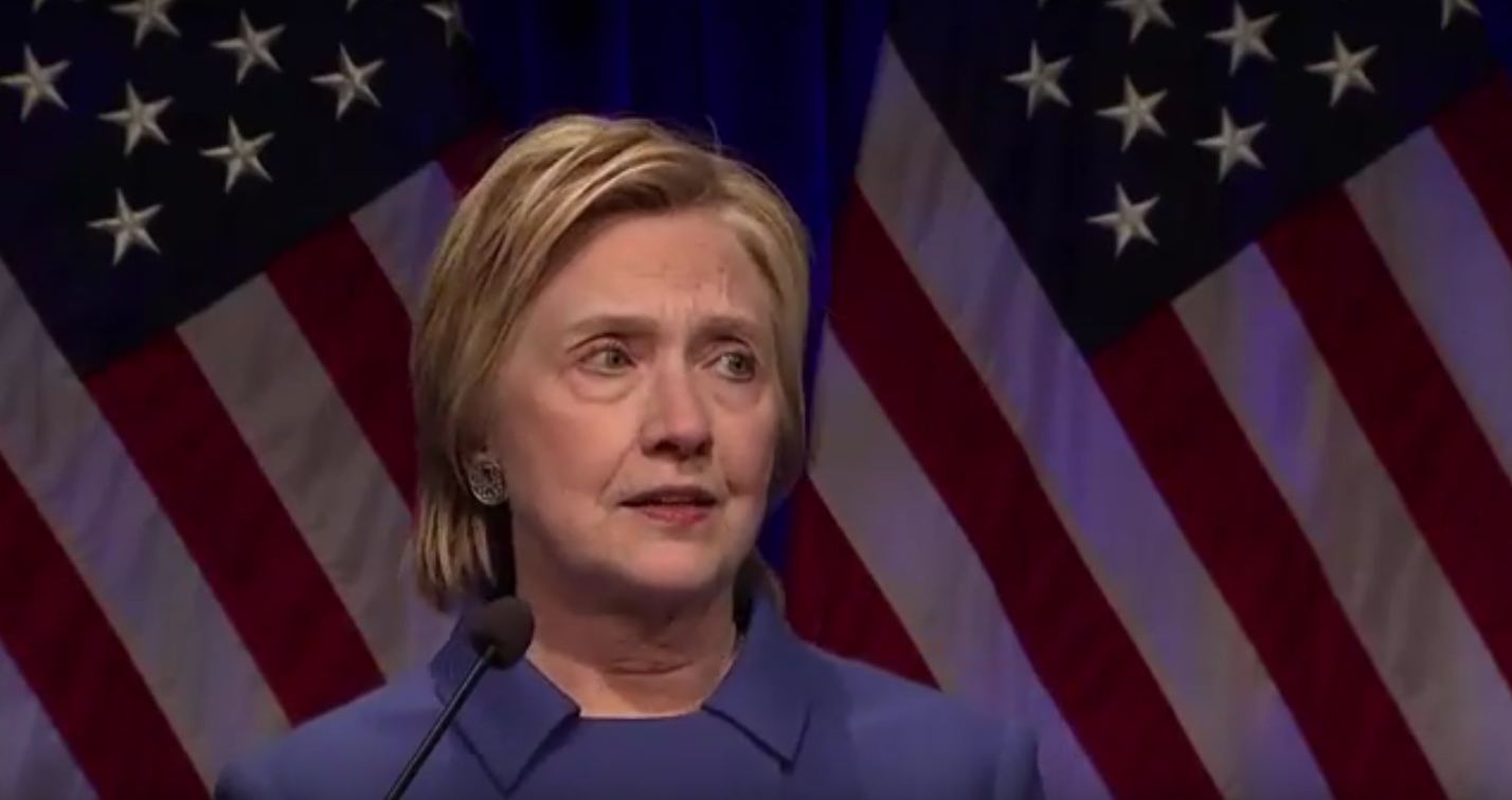 Tearful Hillary Clinton gives gorgeous, emotional speech for the ages