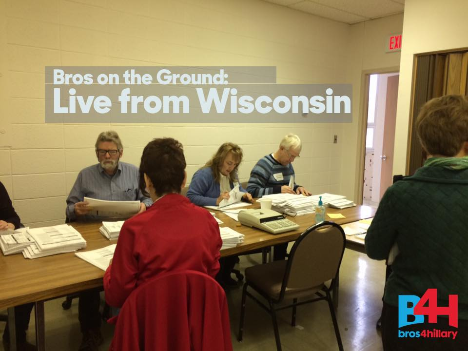 Bros on the Ground: Live from Wisconsin Recount