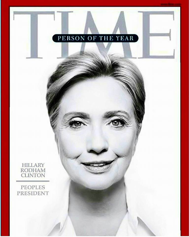 Time Magazine selects its Person of the Year