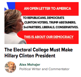 'Open Letter to America' Makes the Front Page of the Huffington Post