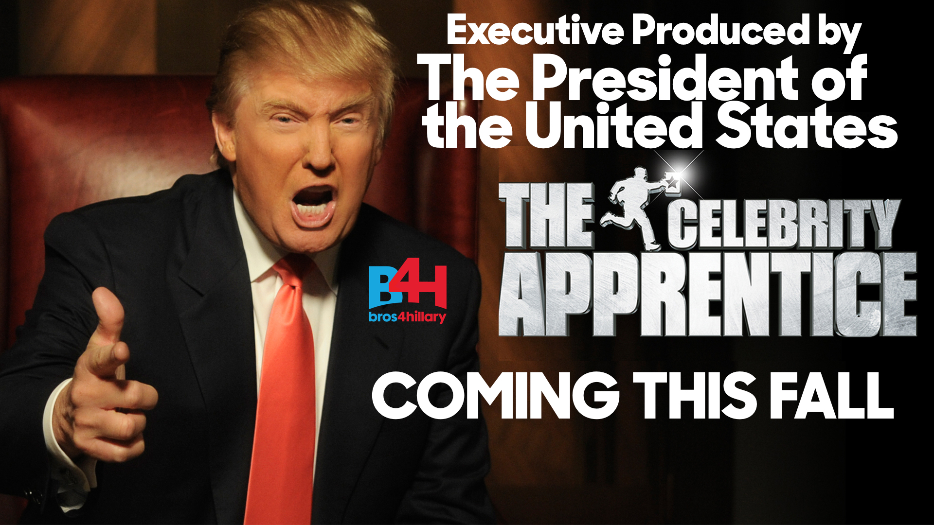 The president will remain Executive Producer of The Apprentice