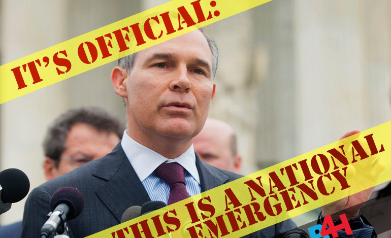 ACTION ALERT: Oppose Scott Pruitt, Disastrous EPA Pick; Confirmation Vote Friday