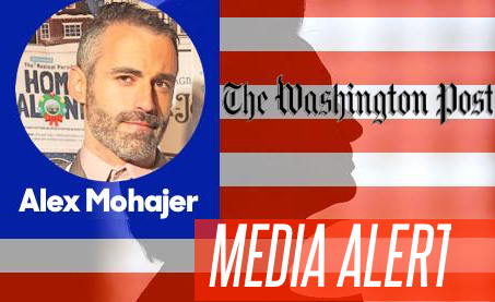 Bros4America's Alex Mohajer Interviewed For Washington Post