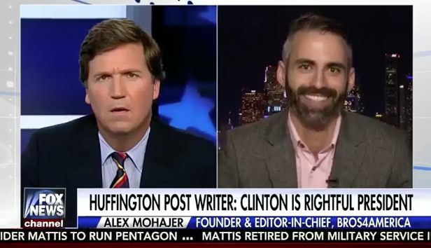 OUTFOXED: Political Commentator Alex Mohajer Turns Tables on Tucker Carlson and Embarasses Him