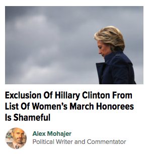 Front Page of HuffPost Politics: #AddHerName