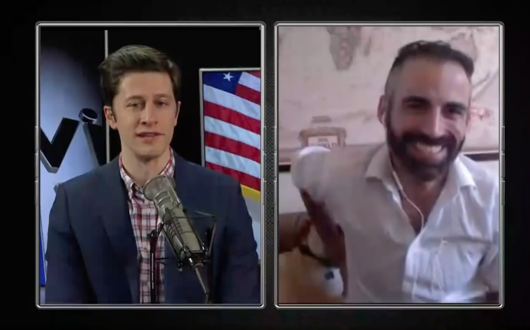 Alex Mohajer Discusses Explosive Tucker Carlson Interview and Trump's Legitimacy On David Pakman Show