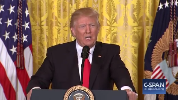"A Play-By-Play Of The Press Conference From Hell With A ""So-Called"" President: VIDEO"