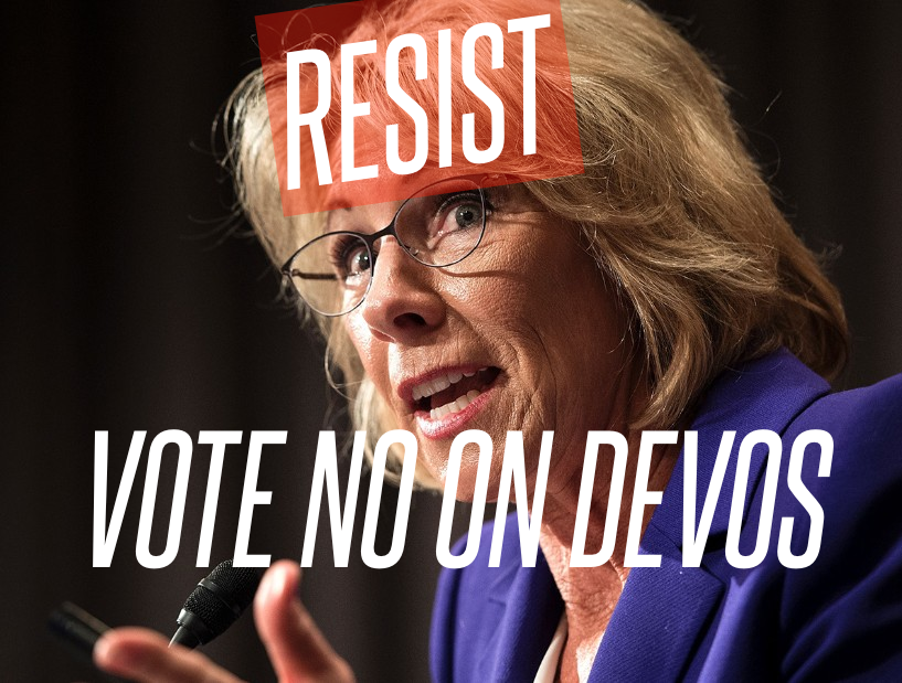 ACTION ALERT: Only 2 GOP 'NO' Votes Needed To Deny Betsy Devos