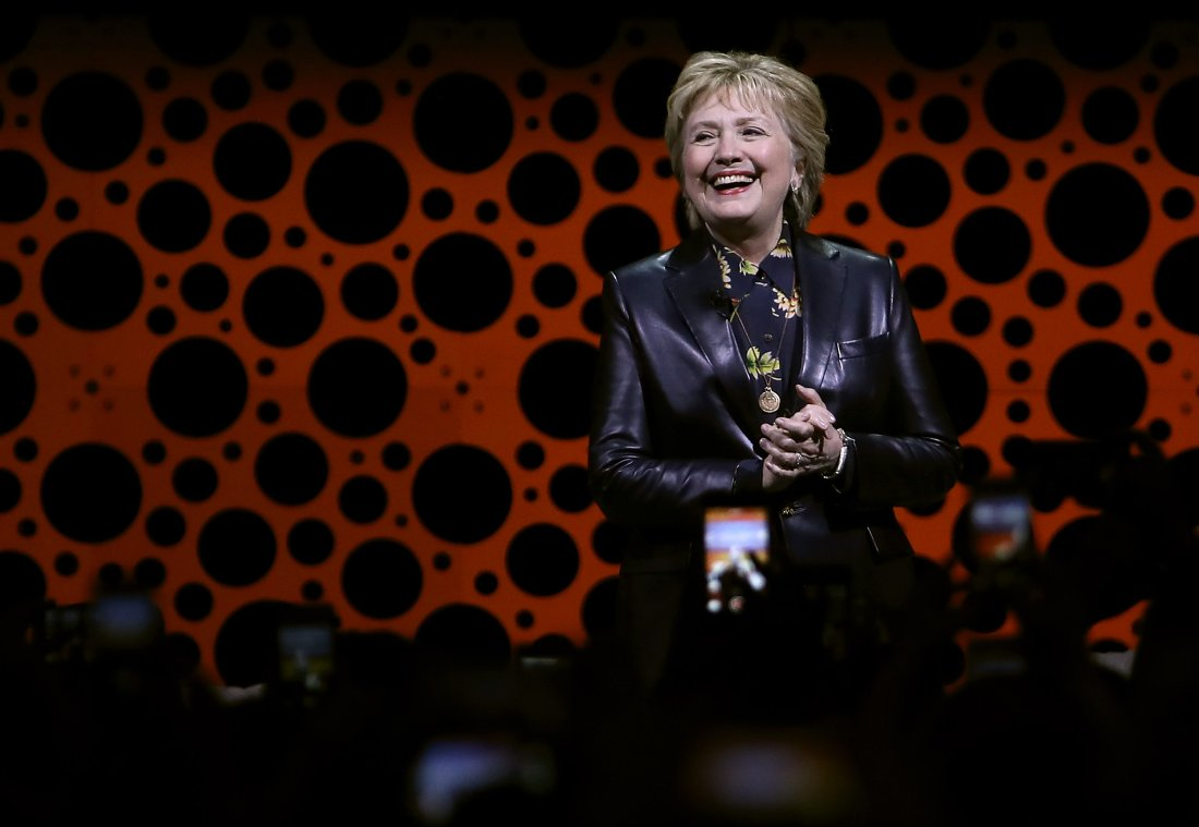 Hillary Clinton Signals She's Back, Slams White House For Sexist Comments
