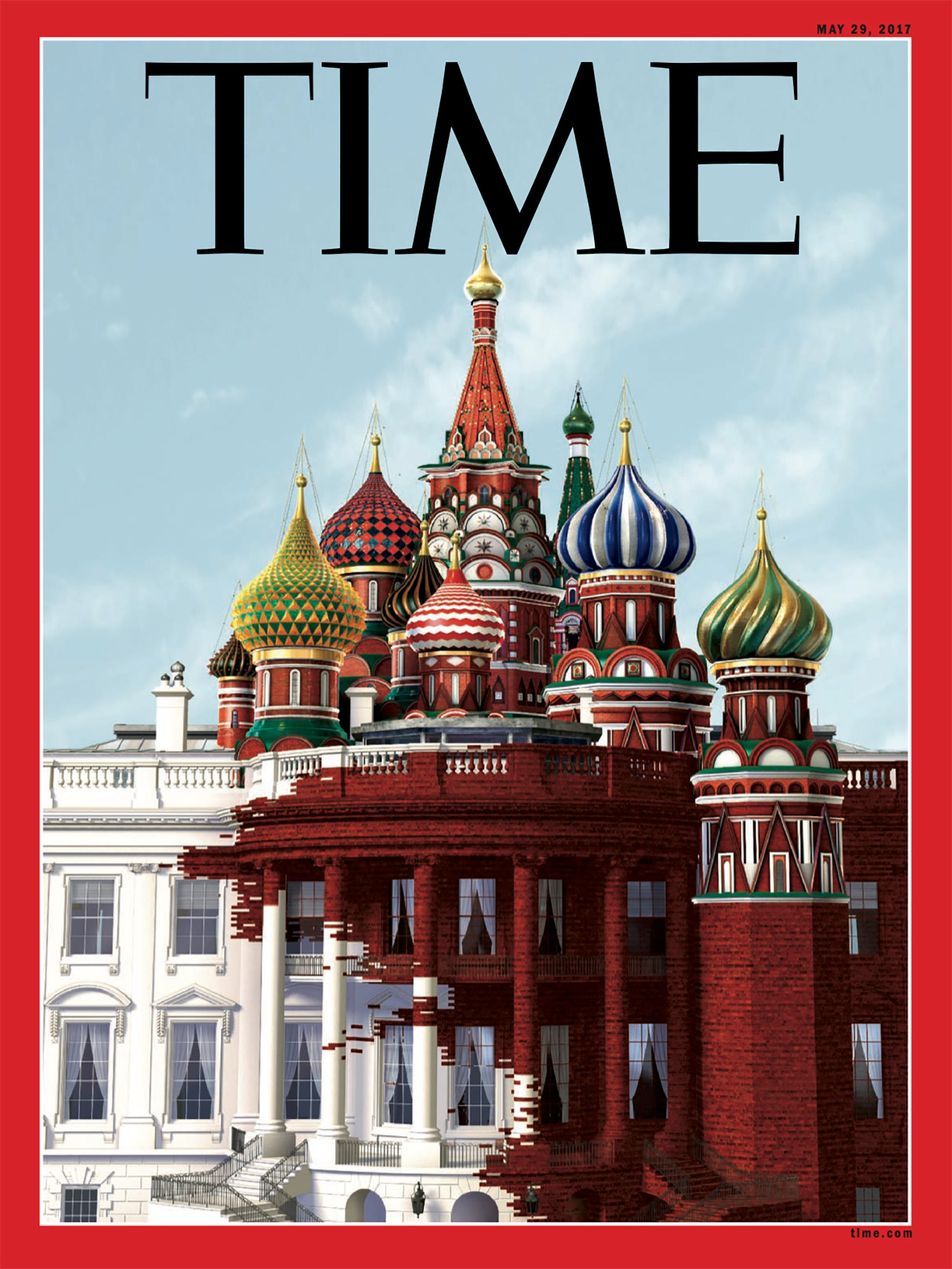 Time Magazine Cover Trump/Russia