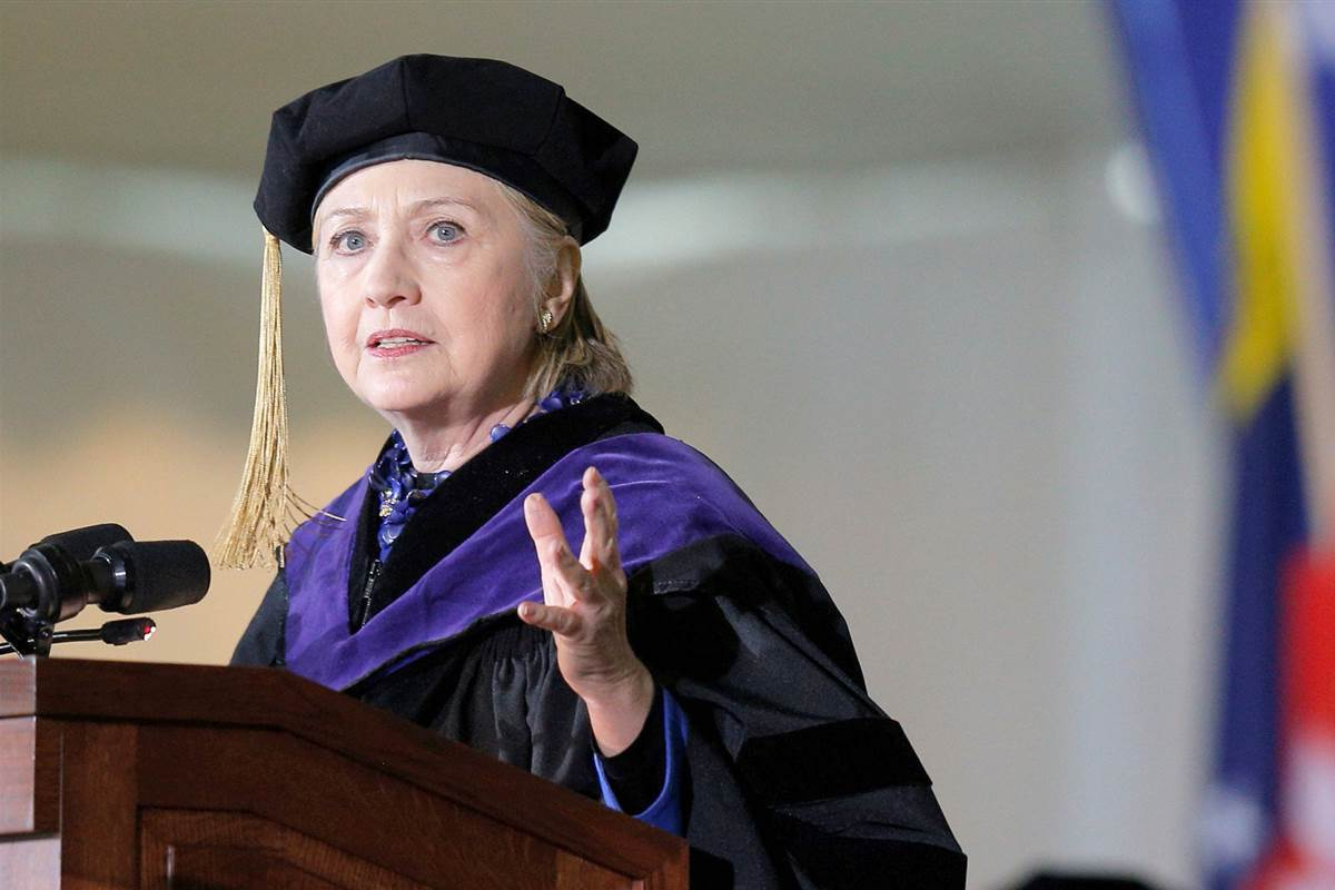 Hillary Clinton's Stunning Indictment of Donald Trump at Wellesley Commencement (VIDEO)