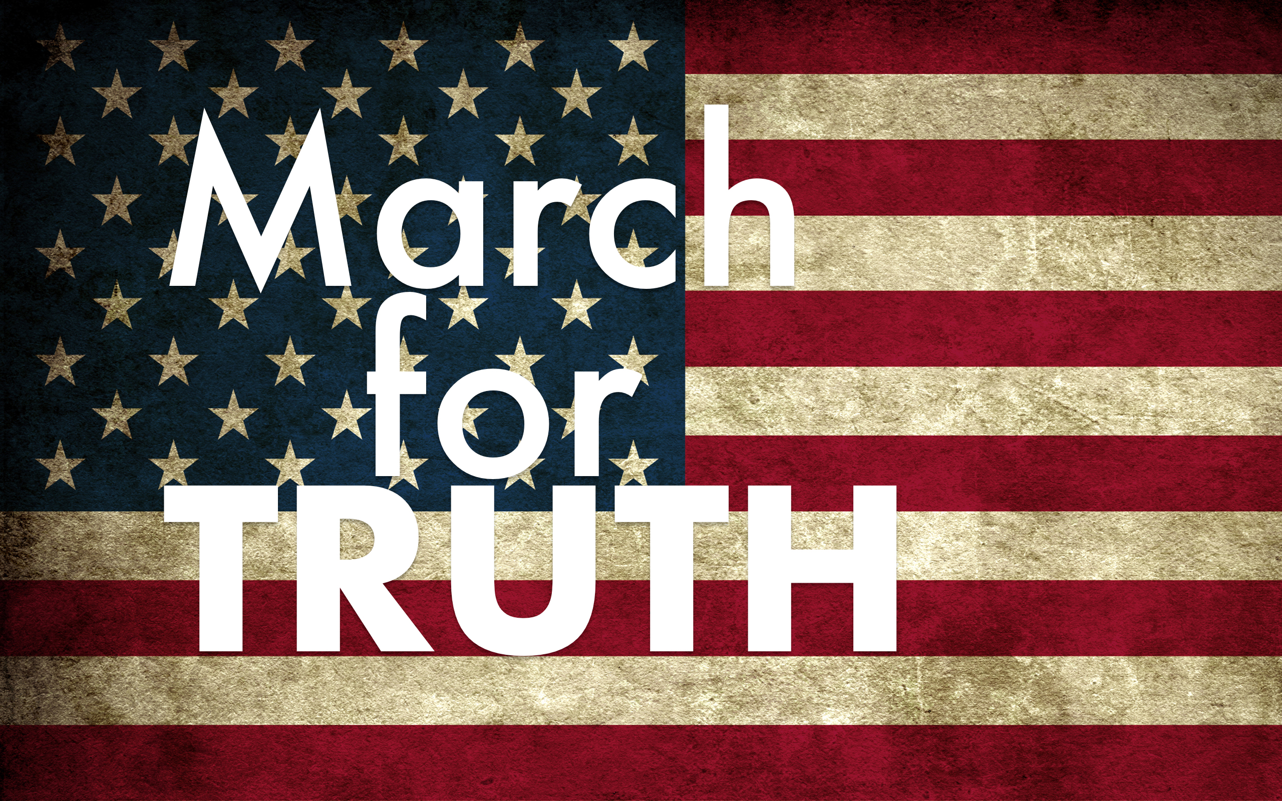 March for Truth on Saturday June 3