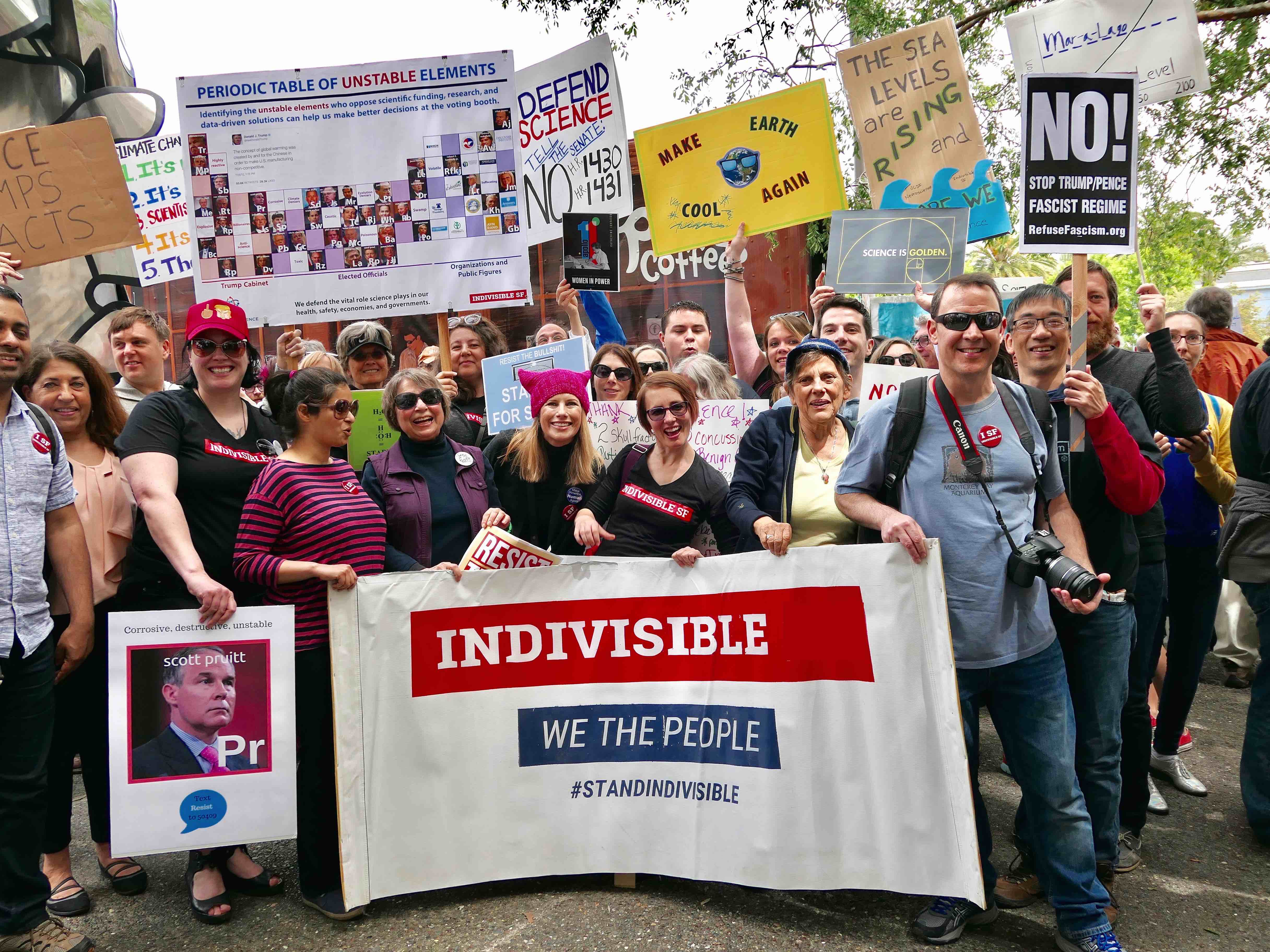 Indivisible March To Honor Heather Heyer, Resist Trump Agenda