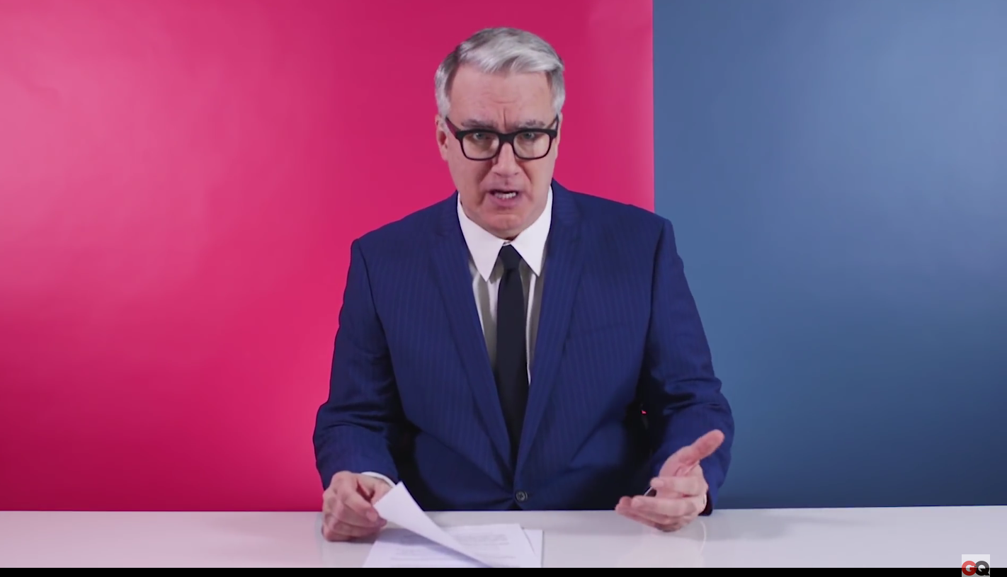 Keith Olbermann Retires From Politics In Blistering Blaze of Glory