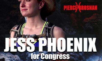 Jess Phoenix is Not Pierce Brosnan
